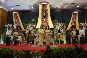 dekorasi pelaminan toraja