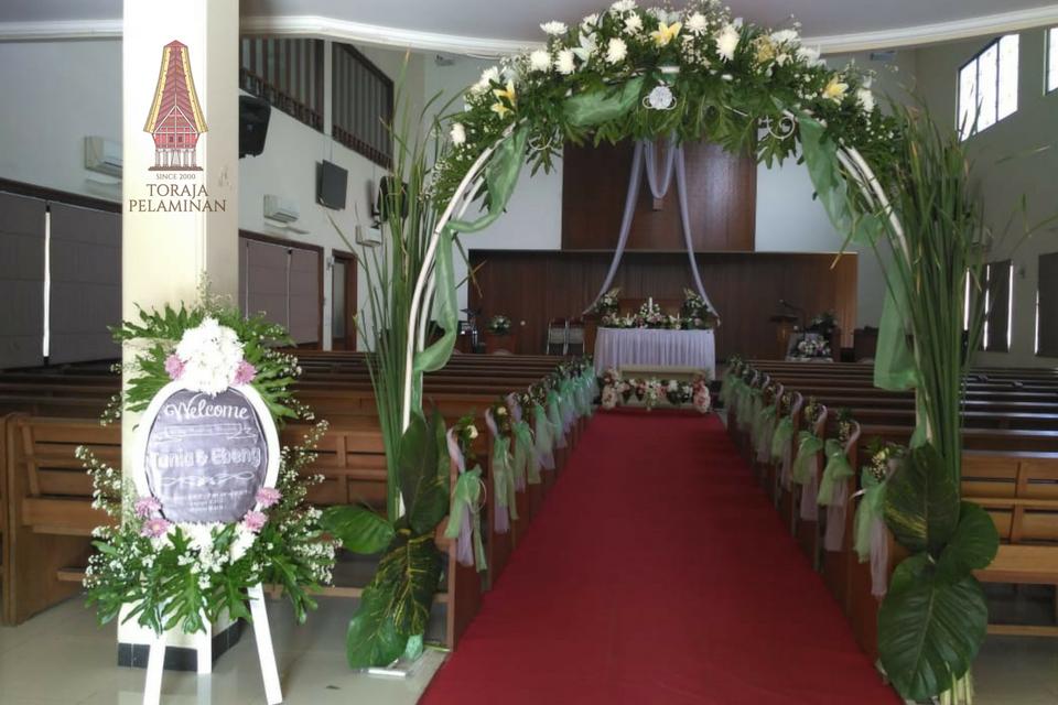 Dekorasi Pelaminan Toraja Di Jakarta Hub 0813 8399 8909